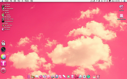 wallpaper desktop pink