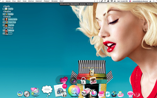 My desktop today